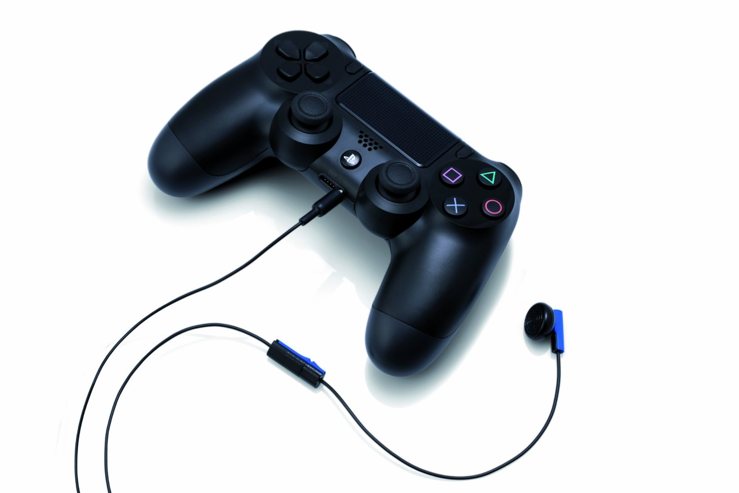 how to connect headset to ps4 controller