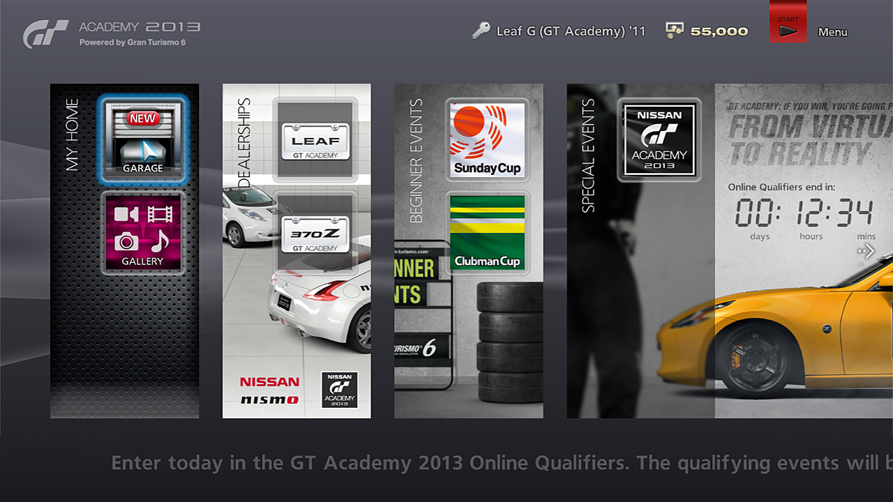 gran turismo 6 demo released. Black Bedroom Furniture Sets. Home Design Ideas