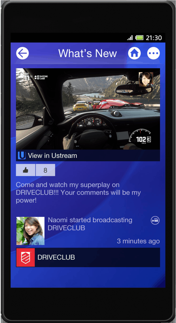 New hd images of the ps4 console and mobile ui for Console mobile