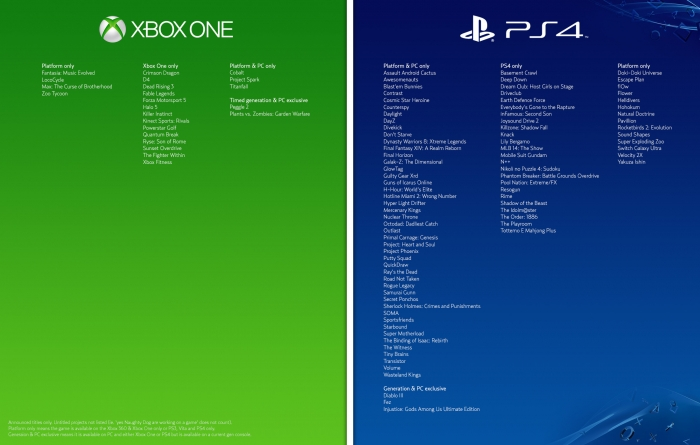 game-exclusives-ps4-xbox-one