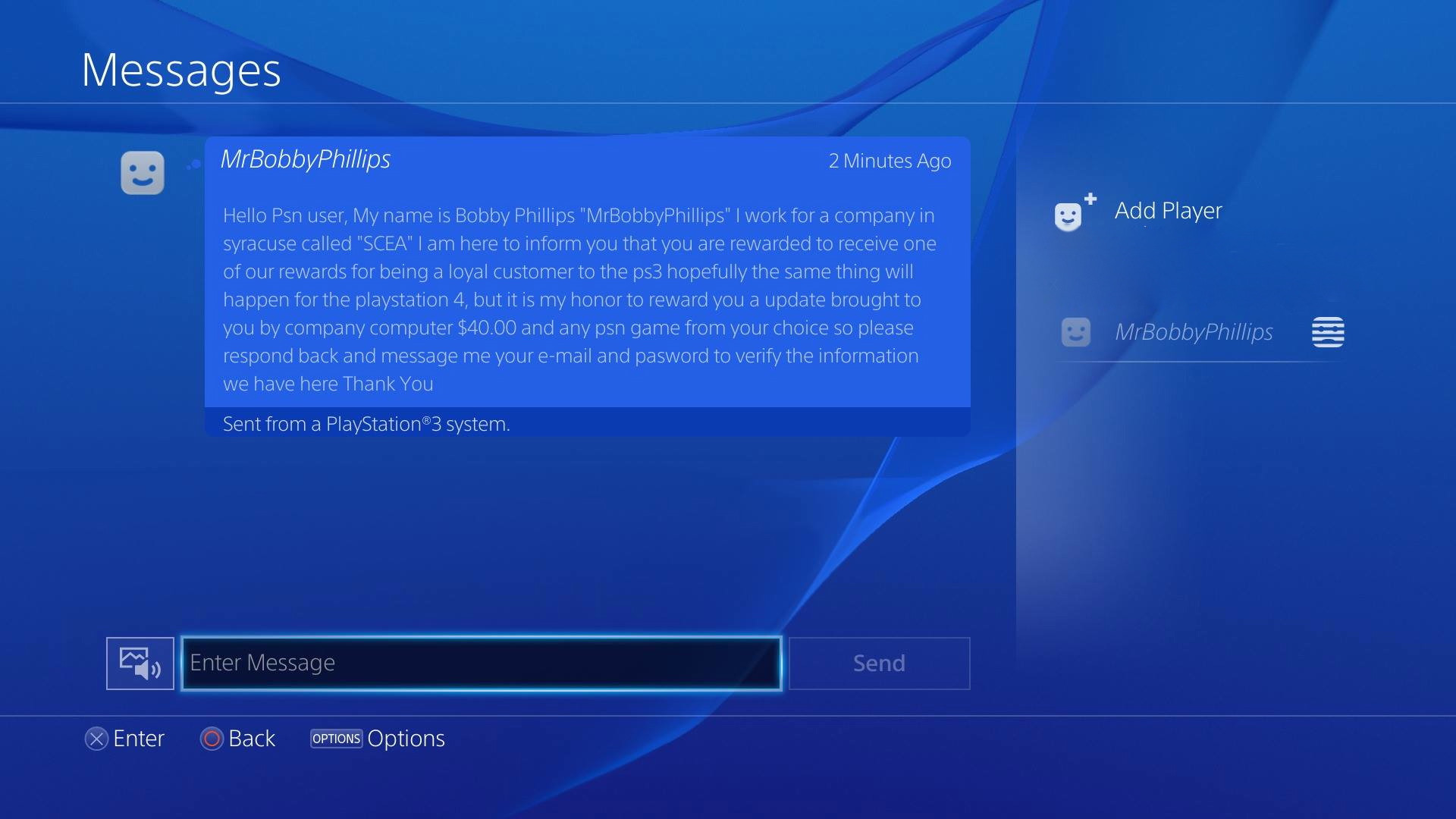 how to delete all messages psn