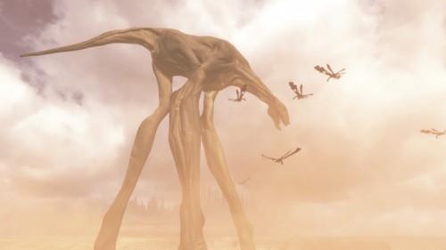 Titanfall Leviathan monster