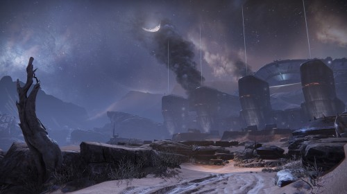 Destiny Mars exclusion zone