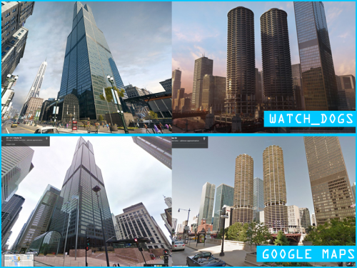 Watch Dogs Chicago comparison