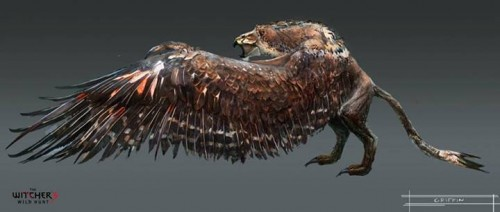 Witcher 3 griffin
