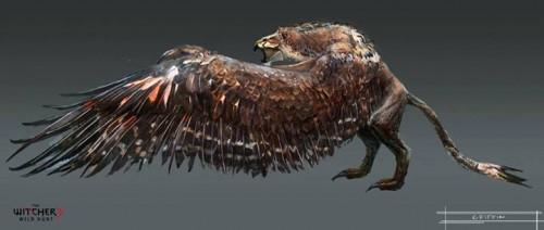 Witcher 3 griffin