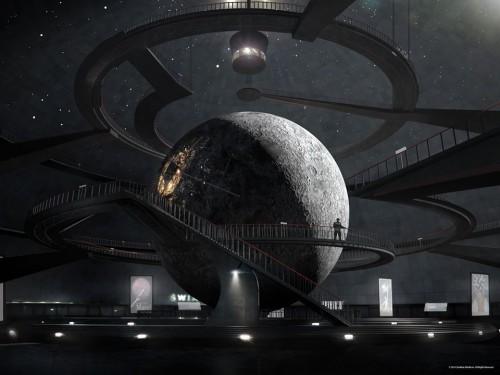 Wolfenstein Moon Dome