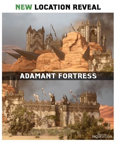 Dragon Age Adamant Fortress