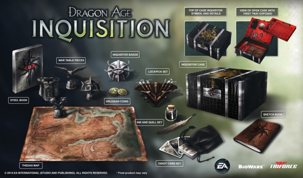 Dragon Age Inquisition Collector S Edition Revealed Cheats Co