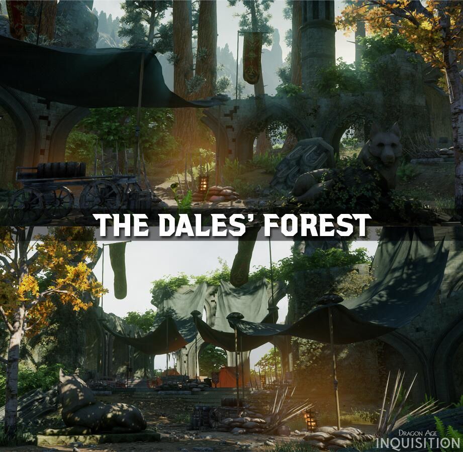 Dragon Age Dales Forest