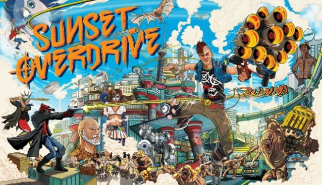 Sunset Overdrive artwork