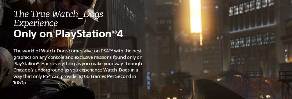 Watch Dogs ps4 fps