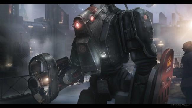 Wolfenstein robot
