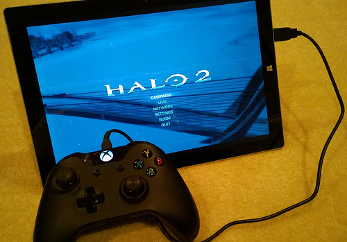 Halo 2 tablet