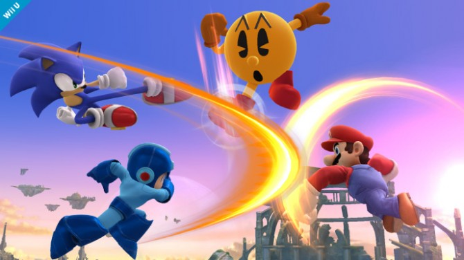 Smash Bros pac-man