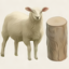 sheep-for-wood